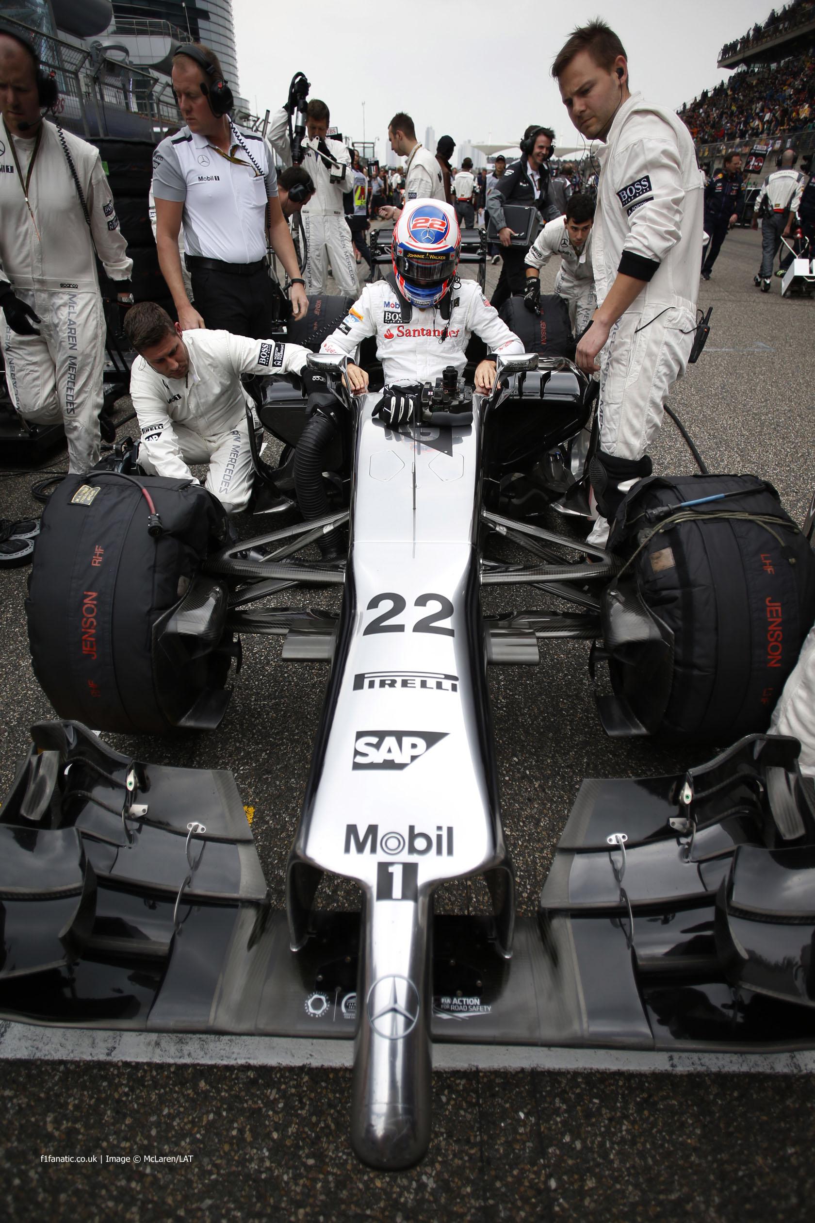 Formula 1 2014 çin gp – fotoğraf albümü