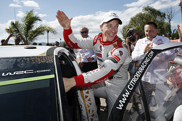 2015 World Rally Championship Rally Argentina 22th - 26th March 2015 Kris Meeke, DS, winner Worldwide Copyright: McKlein/LAT