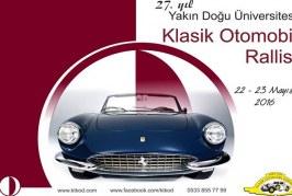 YDÜ 27. Yıl Klasik Otomobil Rallisi Yapılıyor
