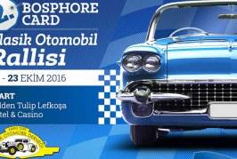 Bosphore Card Klasik Otomobil Rallisi yapılıyor
