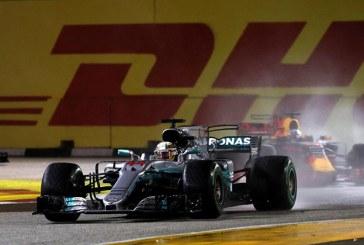 Singapur'da sürpriz bir şekilde Hamilton kazandı
