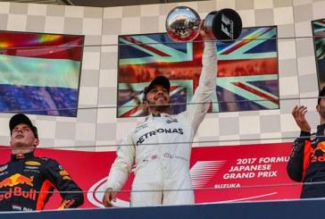 Japonya'da Hamilton kazandı, Vettel yine yara aldı