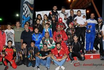 Karting şampiyonası tamamlandı