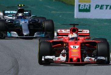 Brezilya'da Vettel zafere ulaştı