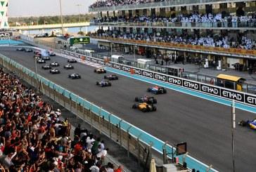 F1'de perde Abu Dhabi'de kapanıyor