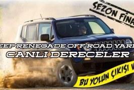 Jeep Renegade Off Road Yarışı Canlı Dereceler