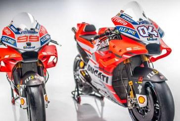 Ducati 2018 motosikletini tanıttı