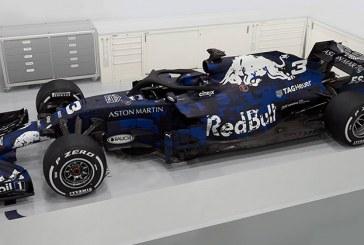 Red Bull'un yeni Formula 1 aracı tanıtıldı