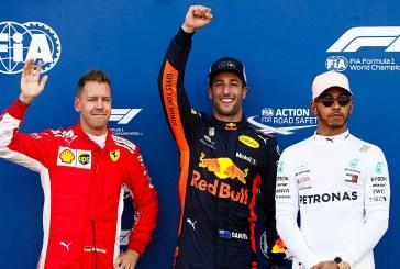Ricciardo Monaco'da 2 yıl sonra yeniden 'pole'de